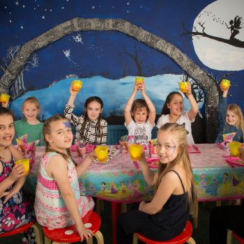 Party and Play Funhouse Bolton Princess Party Package Table