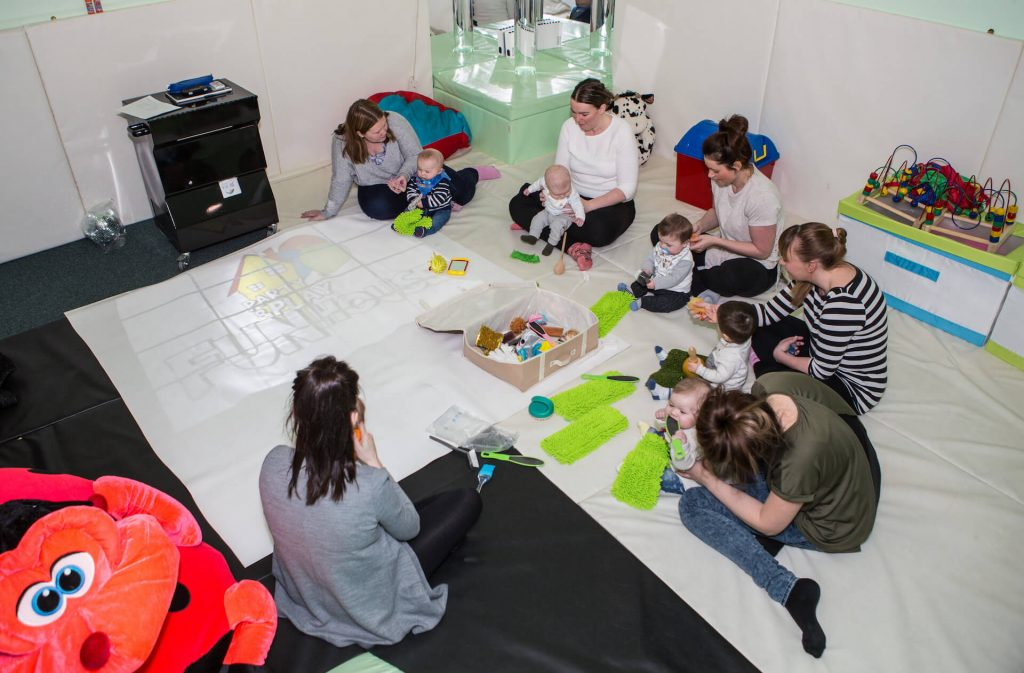 Party and Play Funhouse Bolton Baby Sensory Class