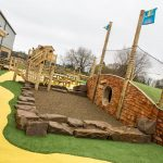 Party and Play Funhouse Bolton Outdoor Adventure Hobbit Hole Rope Bridge