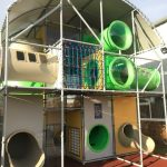 Party and Play Funhouse Bolton Outdoor Adventure New Play-Frame Slides