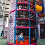 Party and Play Funhouse Bolton Rapunzel Spider Climbing Tower
